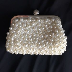 Handbags - Pearl Evening Clutch